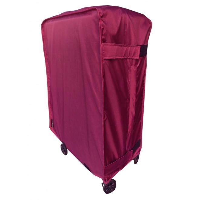 Чехол для чемодана Coverbag Нейлон Classic S бордо
