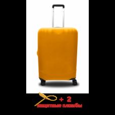 Чехол для чемодана  Coverbag  микродайвинг  S желтый