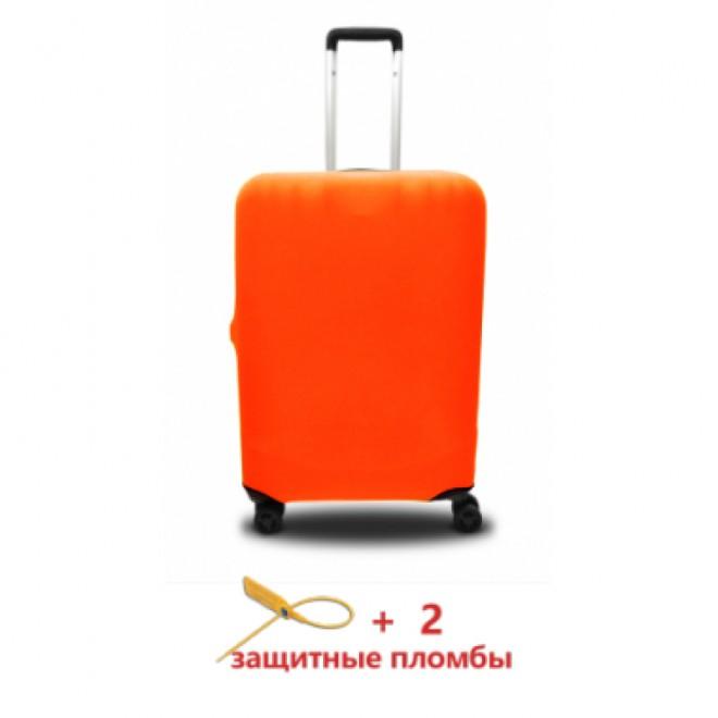 Чехол для чемодана Coverbag микродайвинг S оранжевый