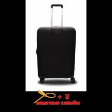 Чехол для чемодана  Coverbag  микродайвинг  S черный