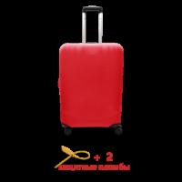 Чехол для чемодана  Coverbag  микродайвинг  S красный