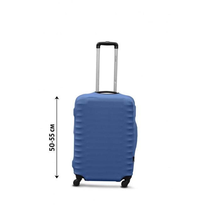 Чехол для чемодана Coverbag дайвинг S джинс
