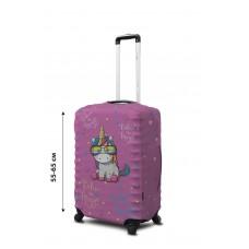 Чехол для чемодана Coverbag  неопрен  M Единорог