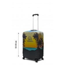 Чехол для чемодана Coverbag неопрен  S  Lets Go