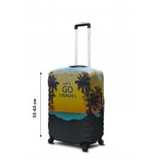 Чехол для чемодана Coverbag  неопрен  M Lets Go