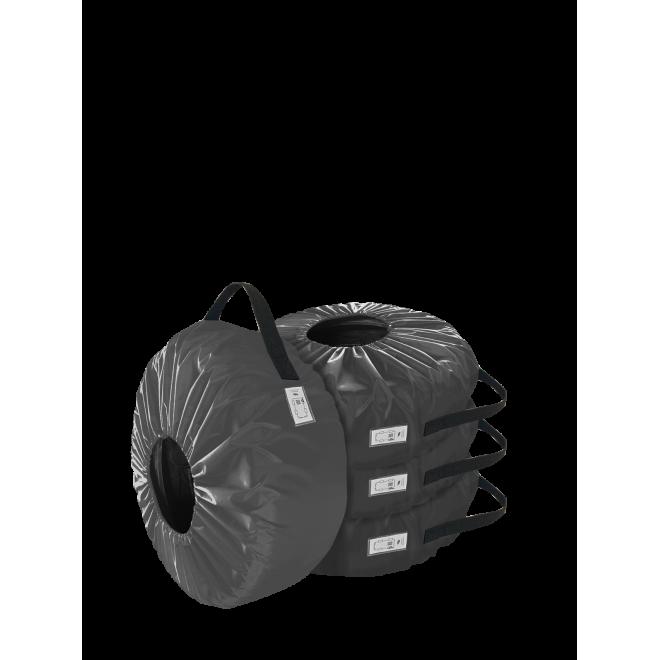 Комплект чехлов для колес Coverbag Eco M серый 4шт.