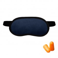 Набор для сна Coverbag т.синий  (маска + беруши)
