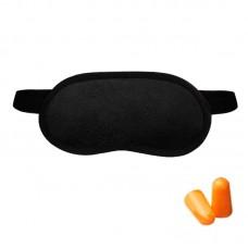 Набор для сна Coverbag черный  (маска + беруши)