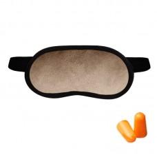 Набор для сна Coverbag пудра (маска + беруши)