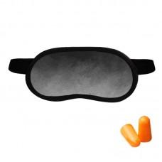 Набор для сна Coverbag серый (маска + беруши)