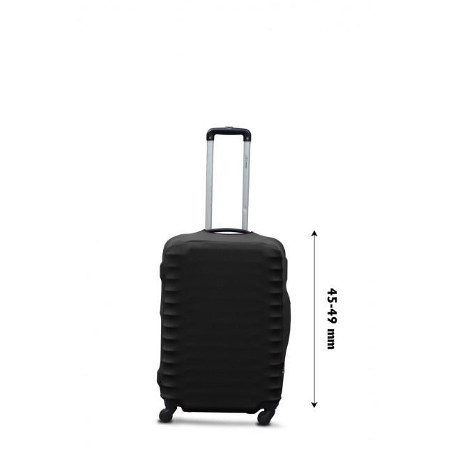 Чехол для чемодана Coverbag дайвинг XS черный