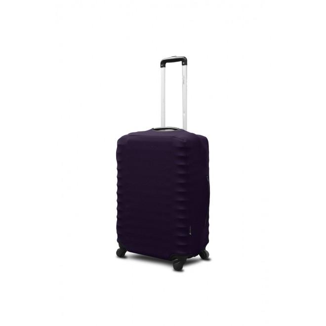 Чехол для чемодана Coverbag неопрен S баклажан