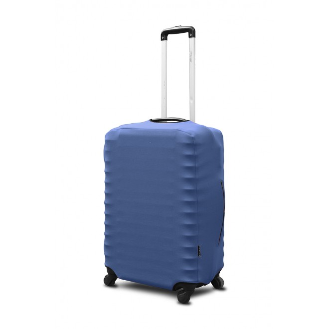 Чехол для чемодана Coverbag неопрен M джинс