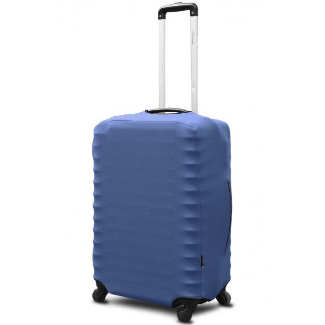 Чехол для чемодана Coverbag неопрен L джинс