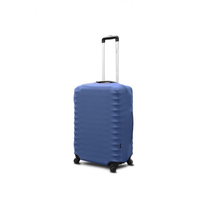 Чехол для чемодана Coverbag неопрен S джинс
