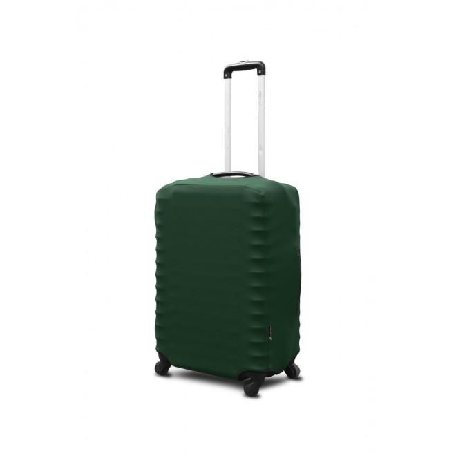 Чехол для чемодана Coverbag неопрен S темно-зеленый