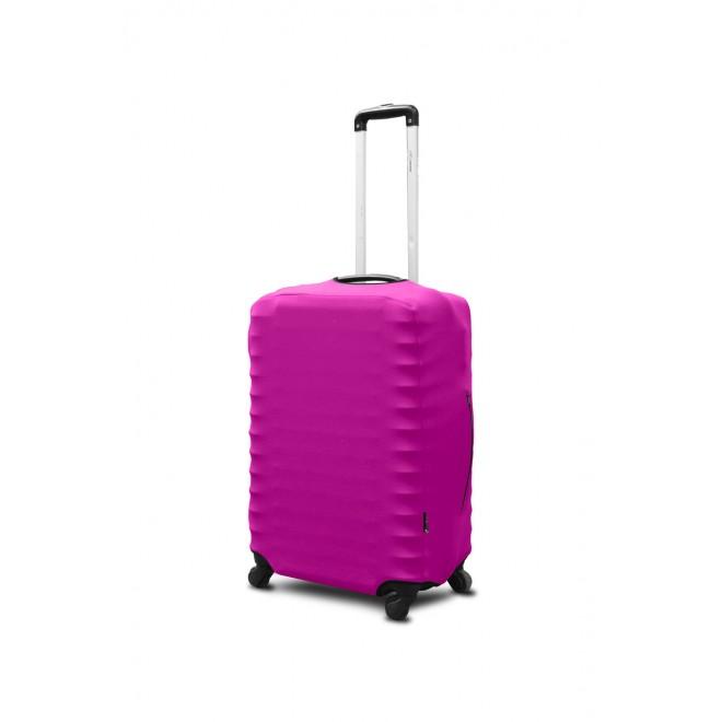 Чехол для чемодана Coverbag неопрен S фуксия