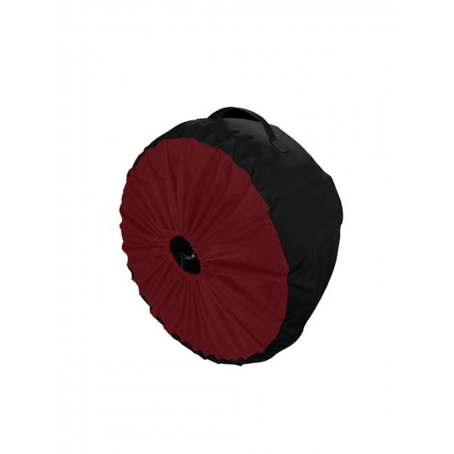 Чехол для колес Coverbag Premium L бордо