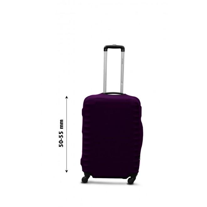 Чехол для чемодана Coverbag дайвинг S баклажан