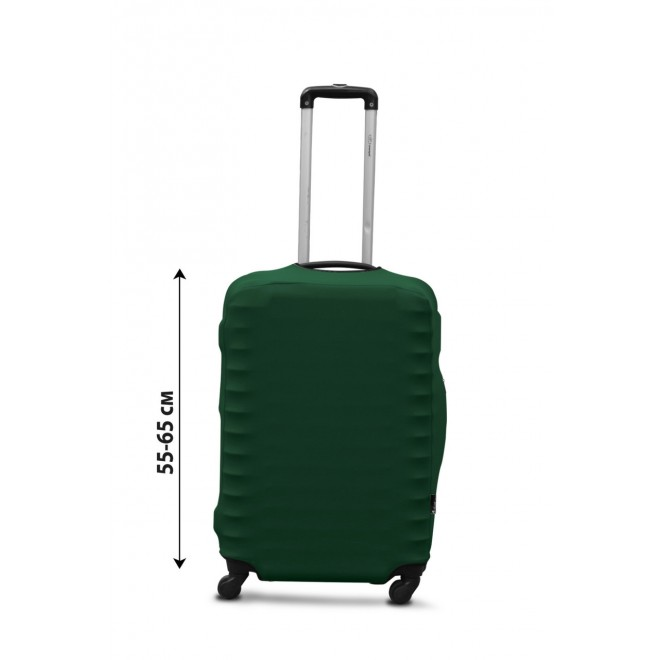 Чехол для чемодана Coverbag дайвинг M темно-зеленый