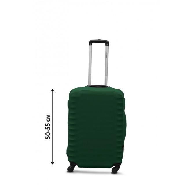 Чехол для чемодана Coverbag дайвинг S темно-зеленый