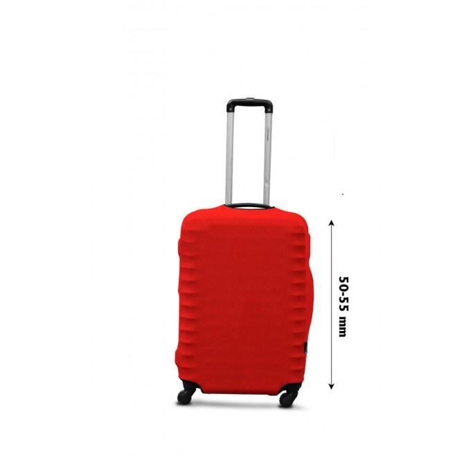 Чехол для чемодана Coverbag дайвинг S терракота