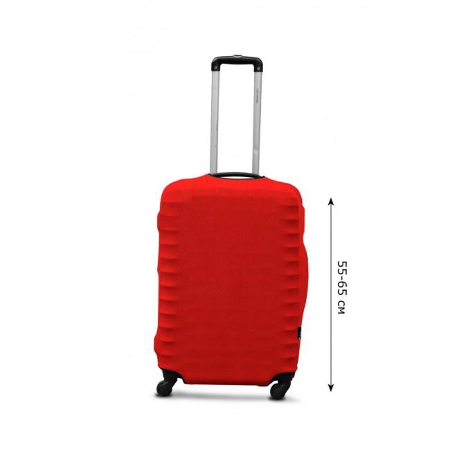 Чехол для чемодана Coverbag дайвинг M терракота