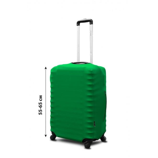 Чехол на чемодан Coverbag неопрен S изумруд