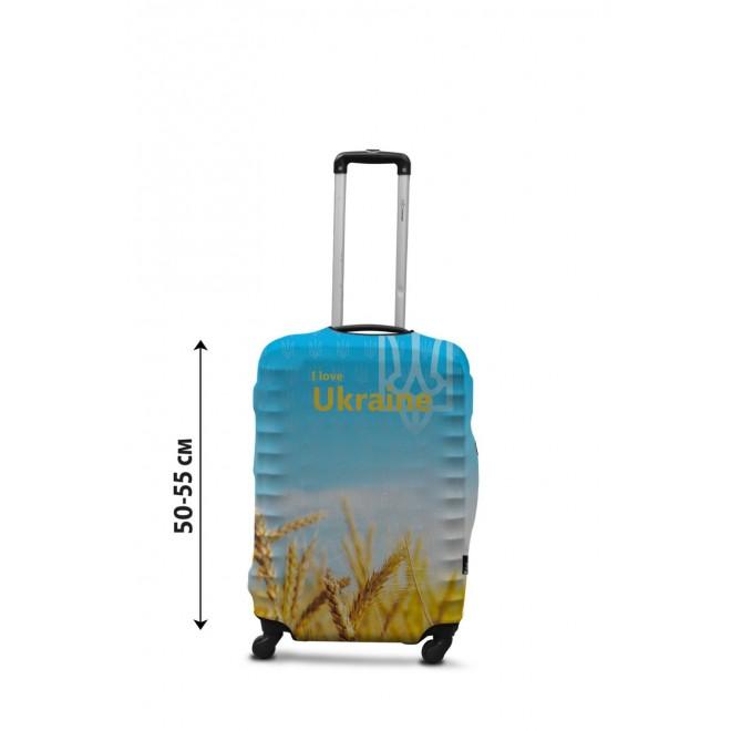 Чехол для чемодана Coverbag Украина новая S принт 0429