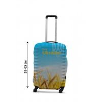 Чехол для чемодана Coverbag Украина новая  M принт  0429