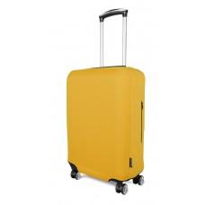 Чехол для чемодана Coverbag неопрен  M желтый