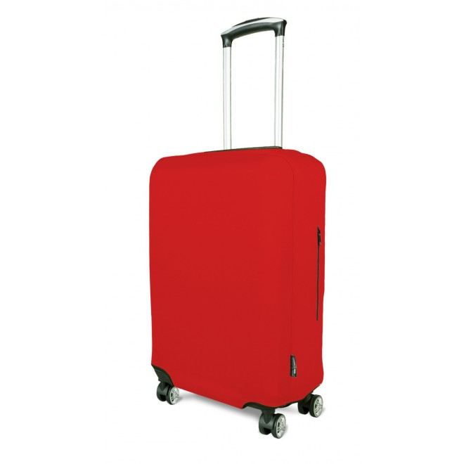 Чехол для чемодана Coverbag неопрен S красный