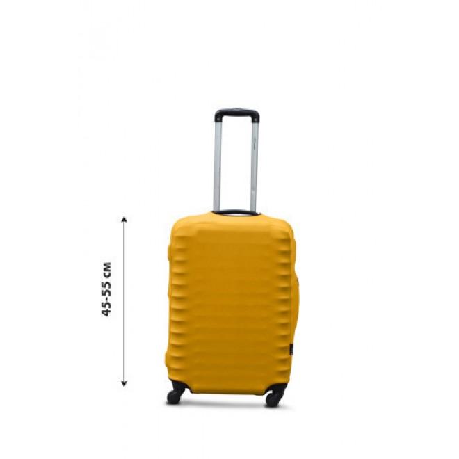 Чехол на чемодан Coverbag дайвинг S желтый