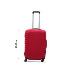Чехол на чемодан  Coverbag дайвинг  M красный