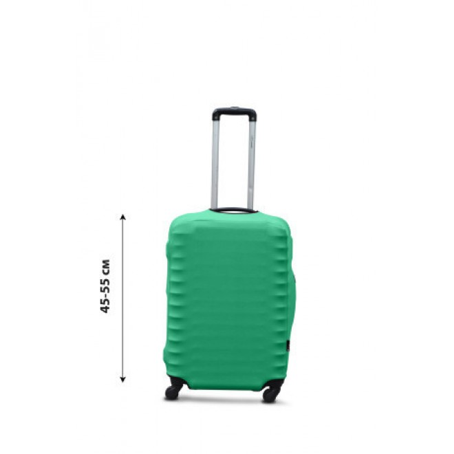 Чехол для чемодана Coverbag дайвинг S мята