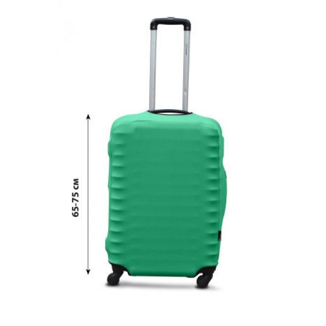 Чехол для чемодана Coverbag дайвинг L мята