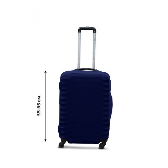 Чехол для чемодана Coverbag дайвинг M синий