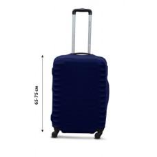 Чехол для чемодана  Coverbag дайвинг L синий