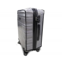 Чехол для чемодана  Coverbag винил L прозрачный