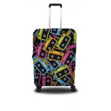 Чехол для чемодана Coverbag кассеты M принт 0401
