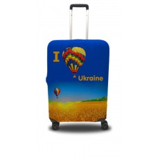 Чехол для чемодана Coverbag я люблю Украину  L принт 0403