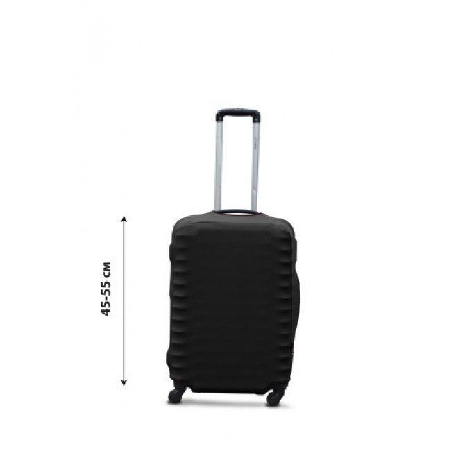 Чехол для чемодана Coverbag дайвинг S черный