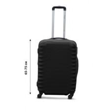 Чехол для чемодана  Coverbag дайвинг L черный