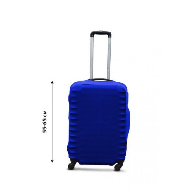 Чехол для чемодана Coverbag дайвинг M электрик