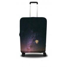 Чехол для чемодана Coverbag звездное небо M принт 0404