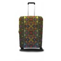 Чехол для чемодана Coverbag украинский орнамент M принт 0416