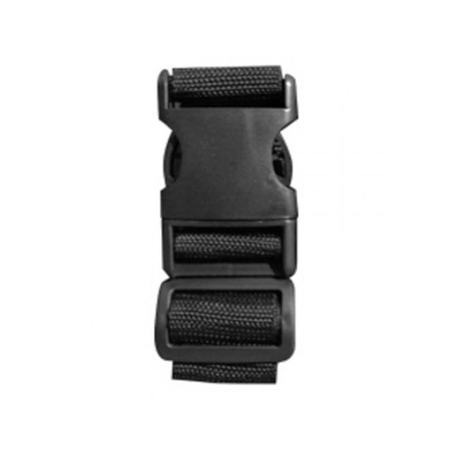 Багажные ремни Coverbag М черные