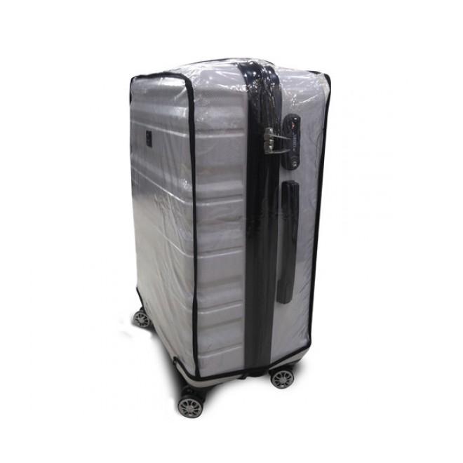 Чехол для чемодана Coverbag винил XXL прозрачный