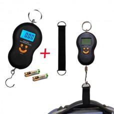Весы для багажа черные