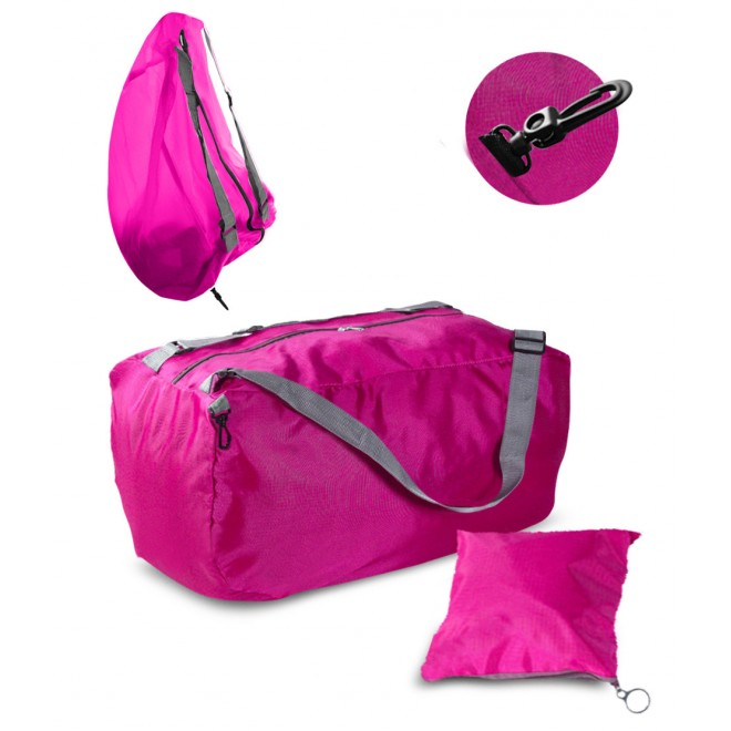 Спортивная сумка розовая